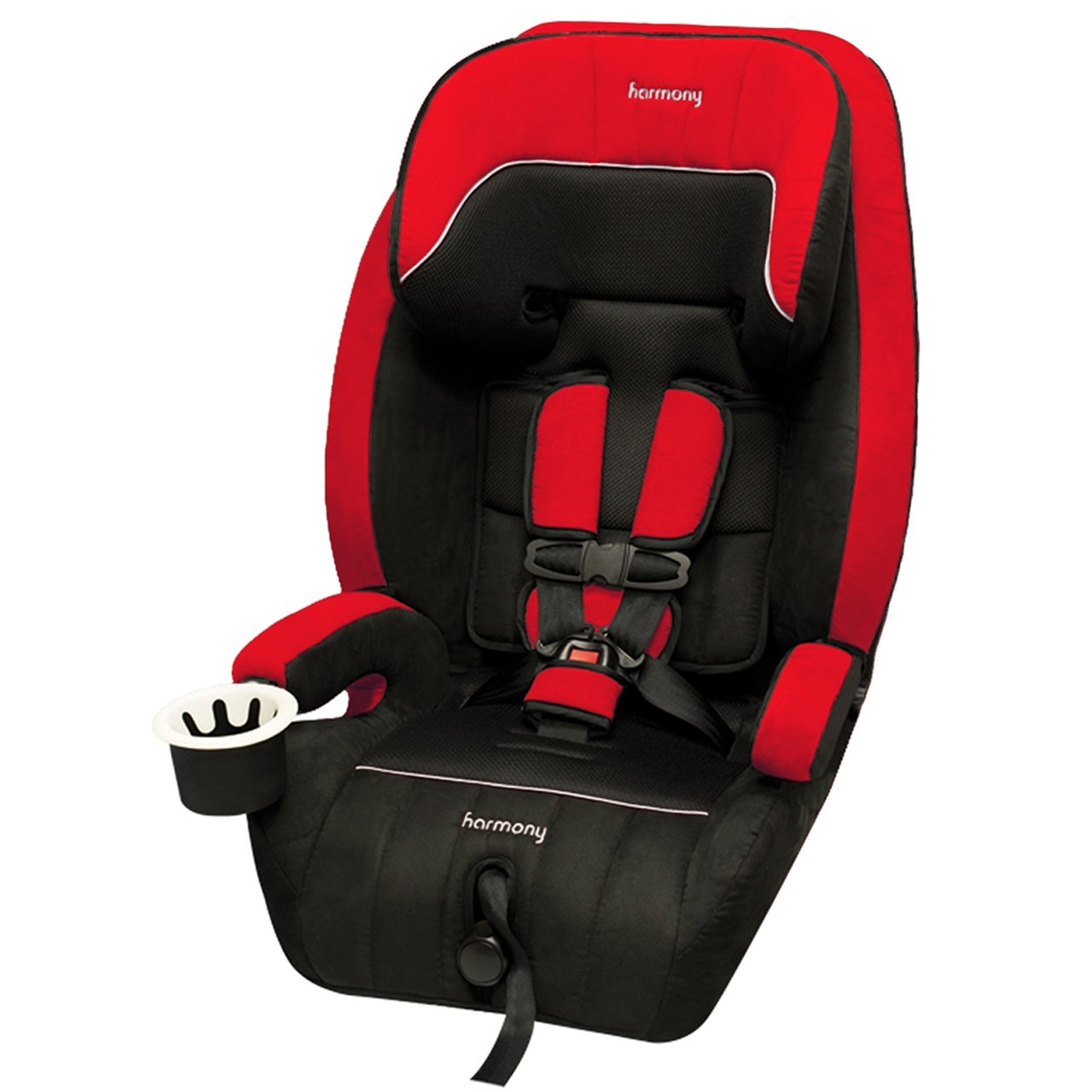Defender 360° 3-in-1 Combination Deluxe Car Seat - Red/Black