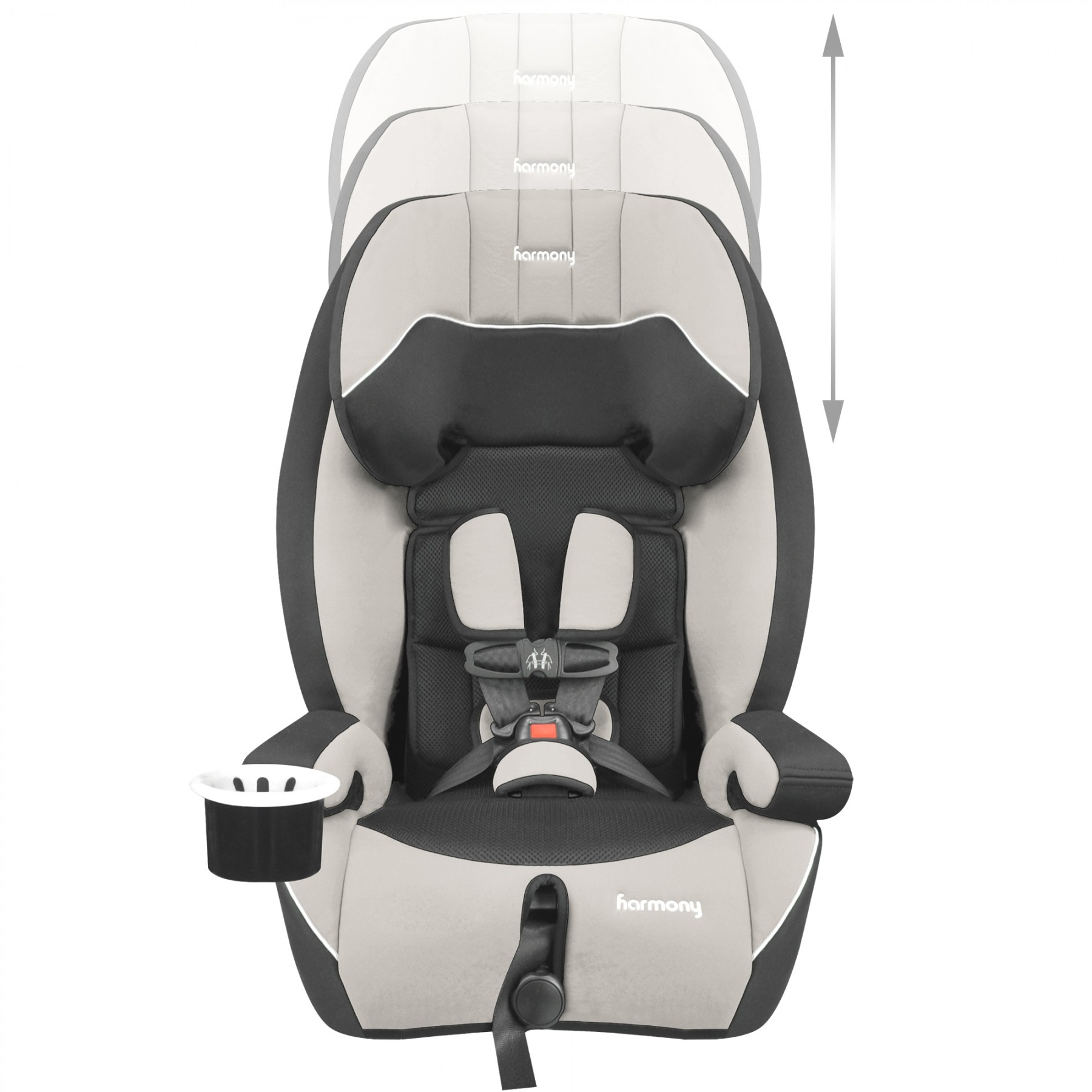 Defender 360° 3-in-1 Combination Deluxe Car Seat - Grey/Black