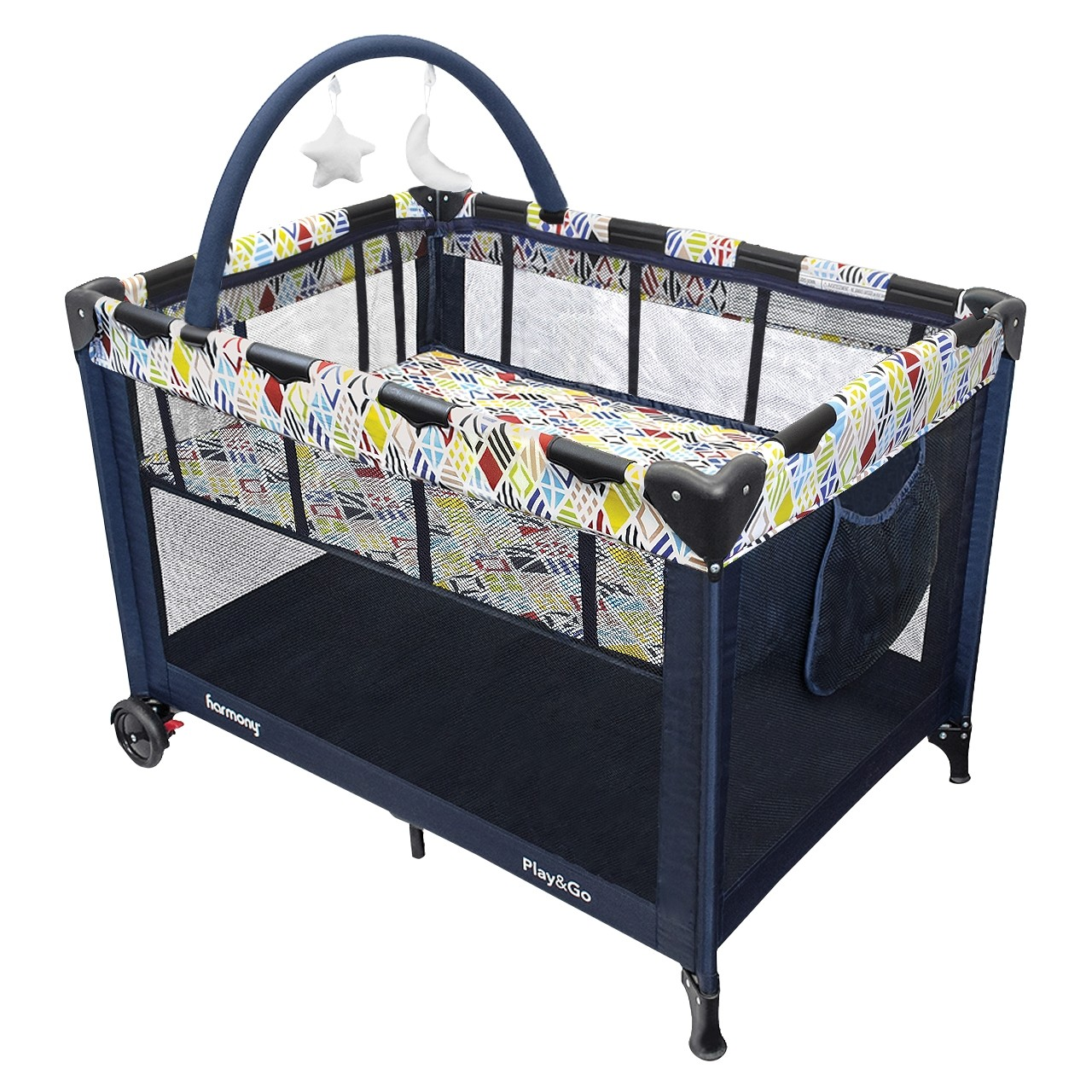 Play & Go Deluxe Playard - Mosaic