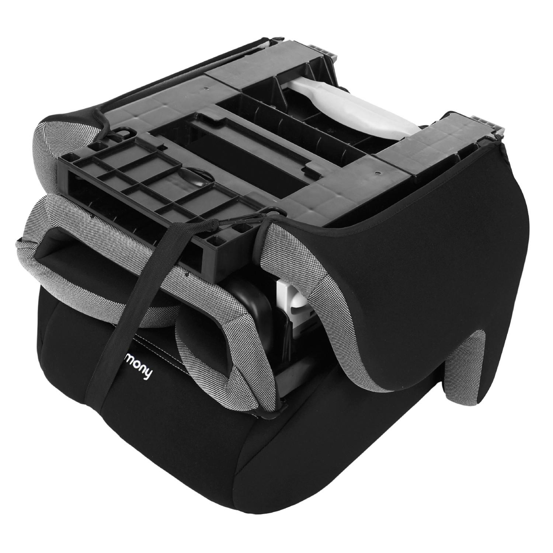 Folding Travel Booster Seat (World Traveler Edition) - Silver Tech