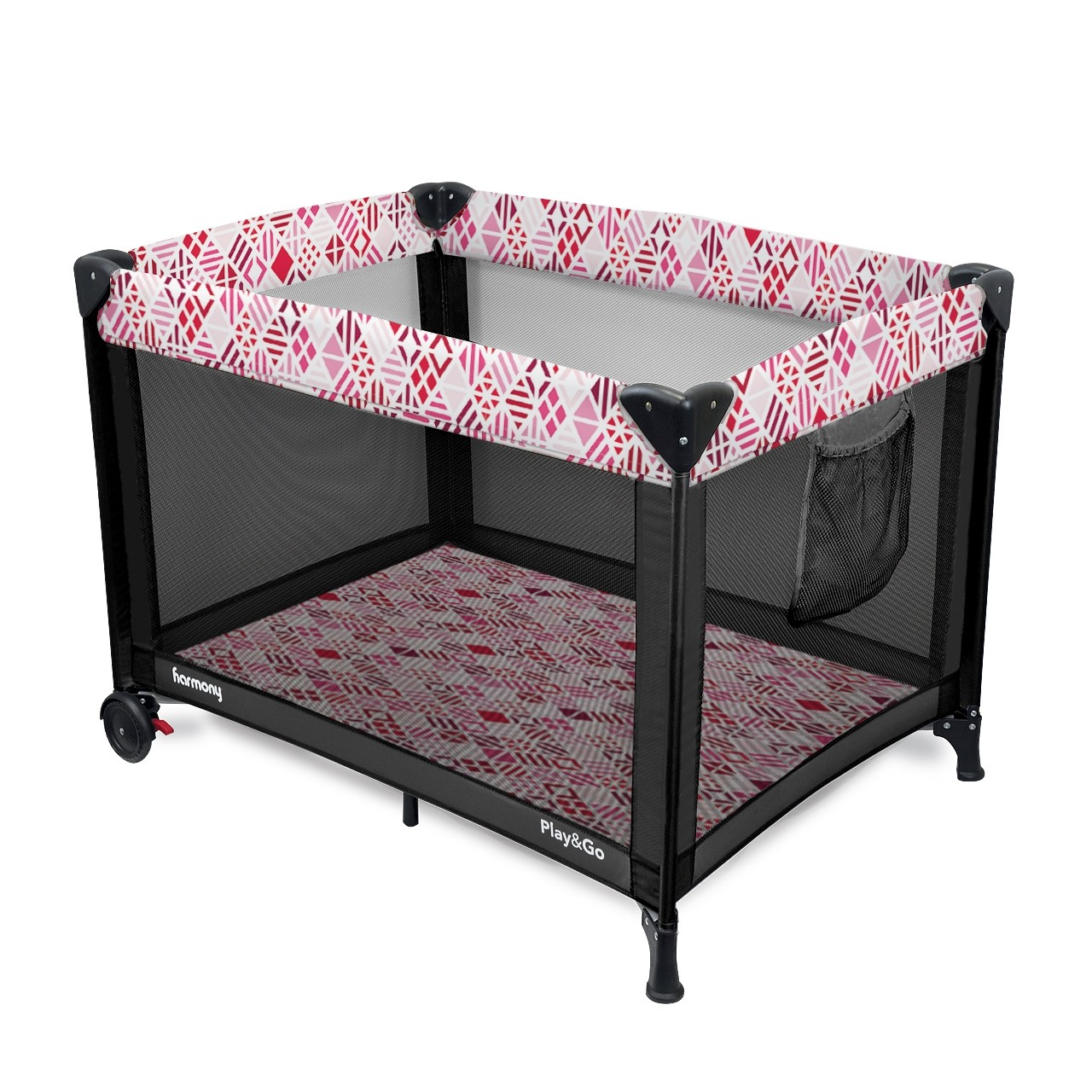 Play & Go Deluxe Playard - Mosaic Girl