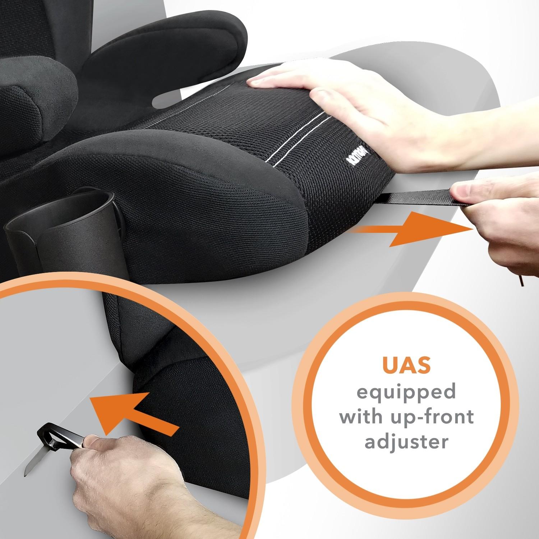 Dreamtime Elite Comfort Booster Car Seat with UAS - Black