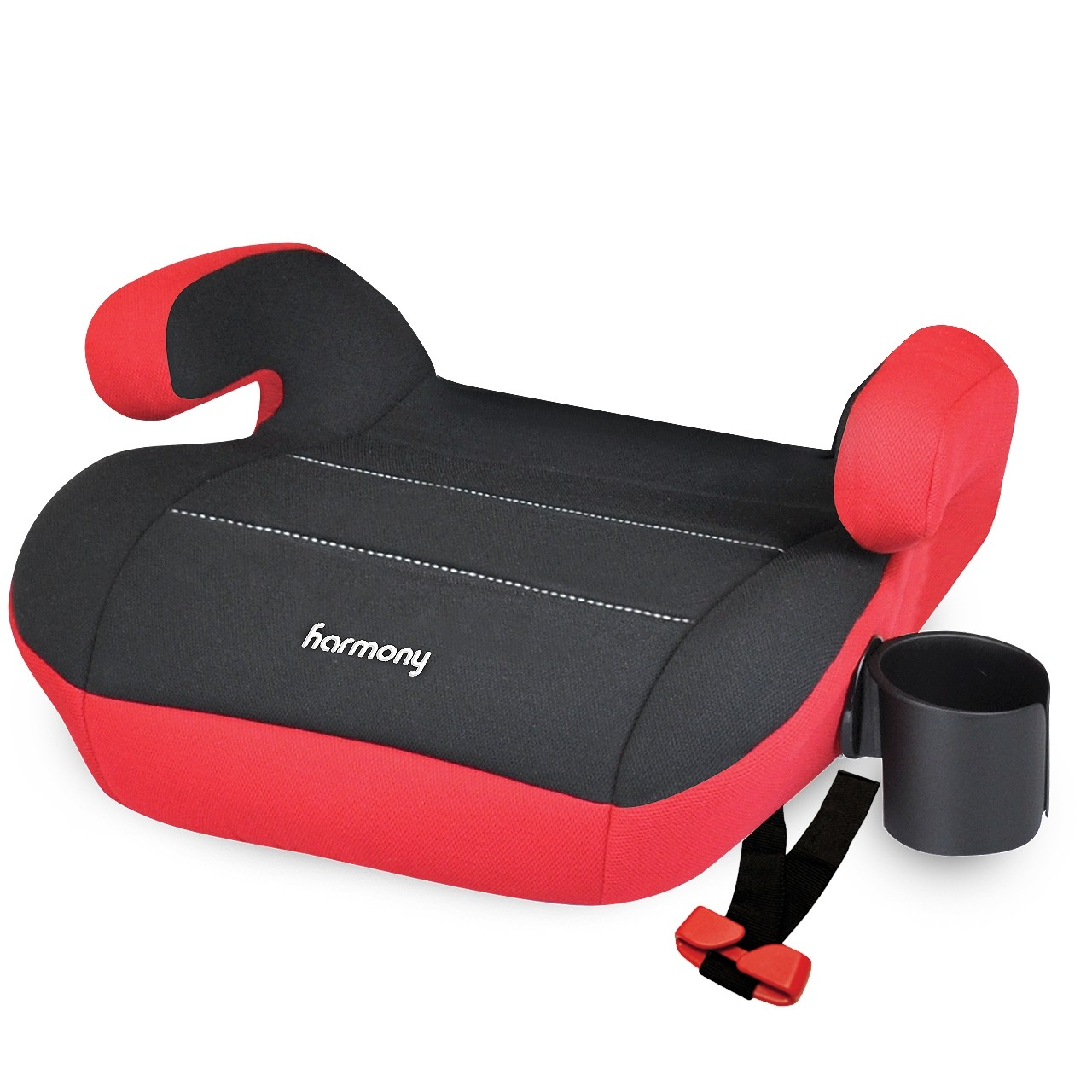 Dreamtime Elite Comfort Booster Car Seat - Red and Black