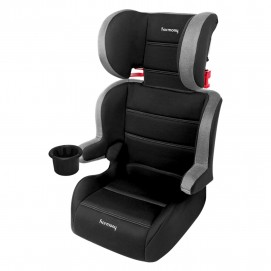 Folding Travel Booster Seat World Traveler Edition Silver Tech