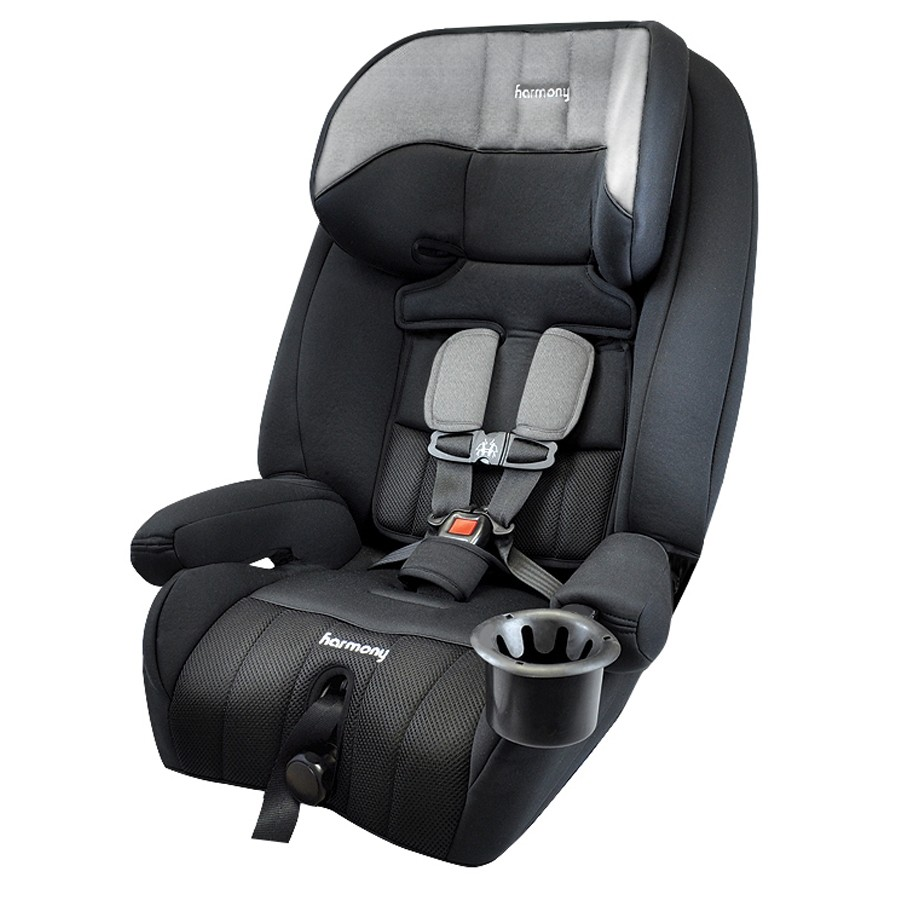 Defender 360° 3-in-1 Combination Deluxe Car Seat - Heather Grey