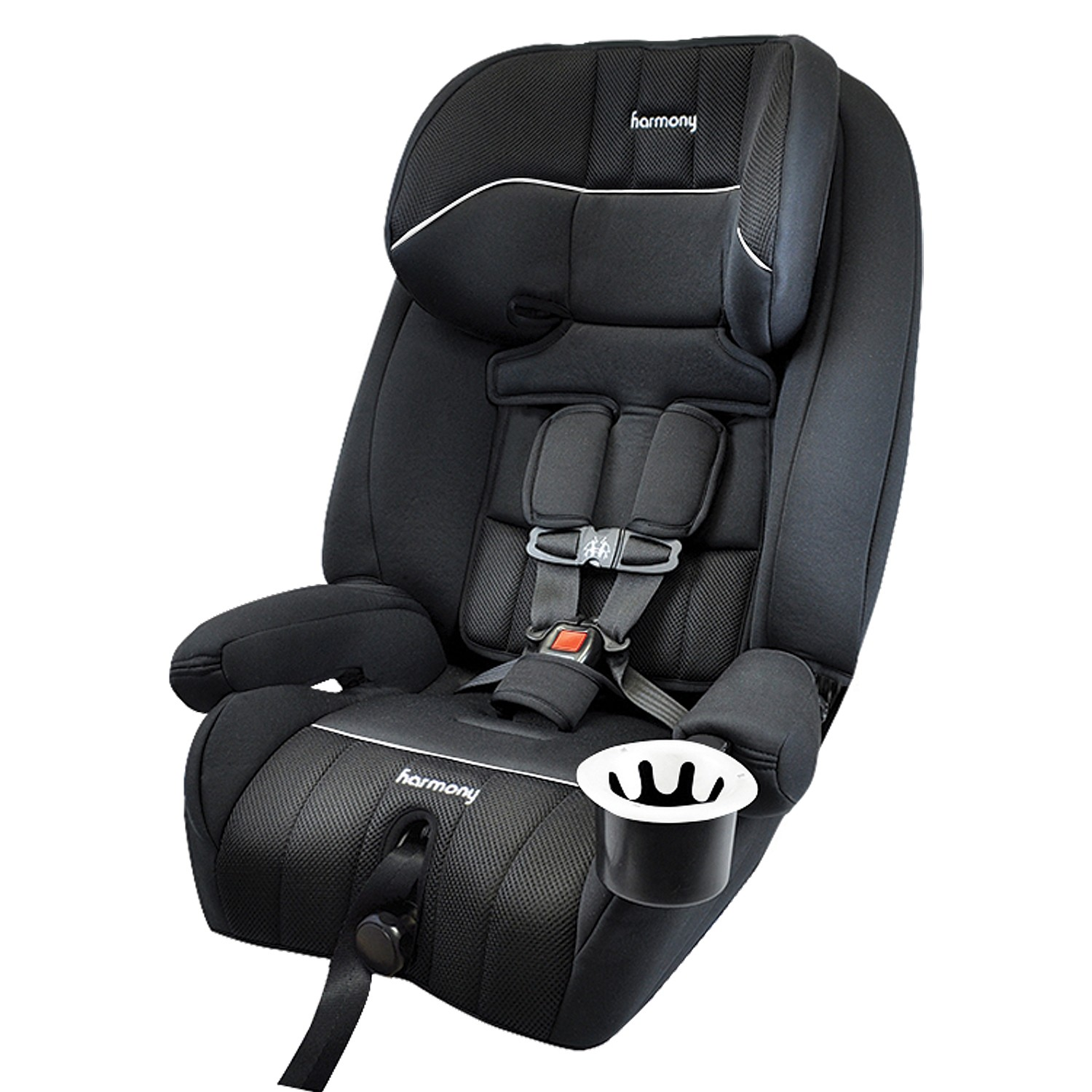 Defender 360° 3-in-1 Combination Deluxe Car Seat - Midnight/White