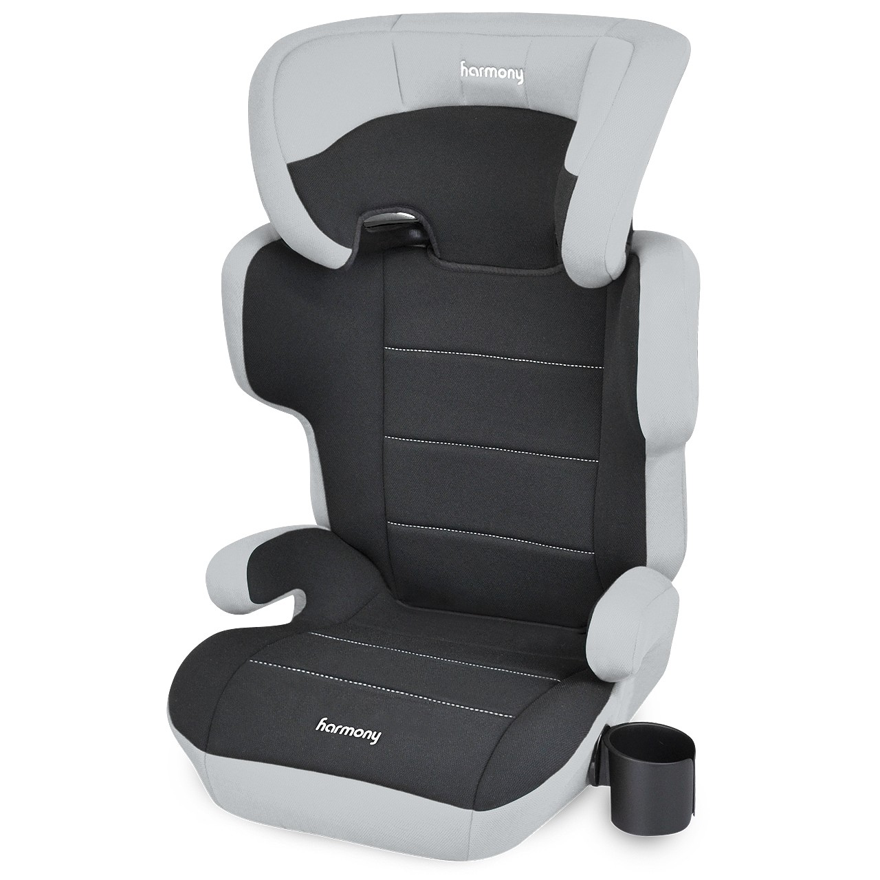Dreamtime Elite Comfort Booster Car Seat - Grey and Black