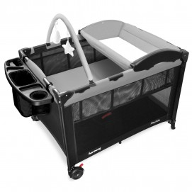 Play & Go Complete Playard - Grey & Black
