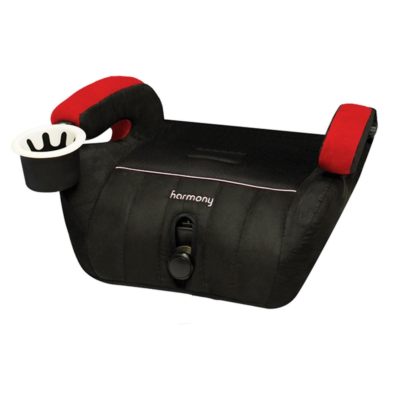 Defender 360° Siège d'auto de luxe 3-en-1 - Rouge/Noir