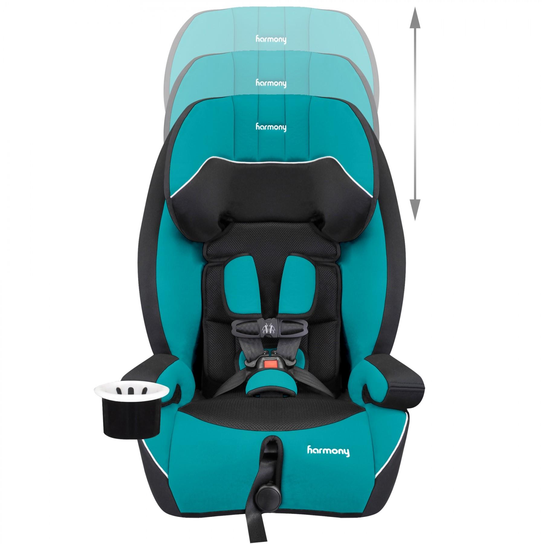 Defender 360° Sport Siège d'auto de luxe 3-en-1 - Bleu Sarcelle