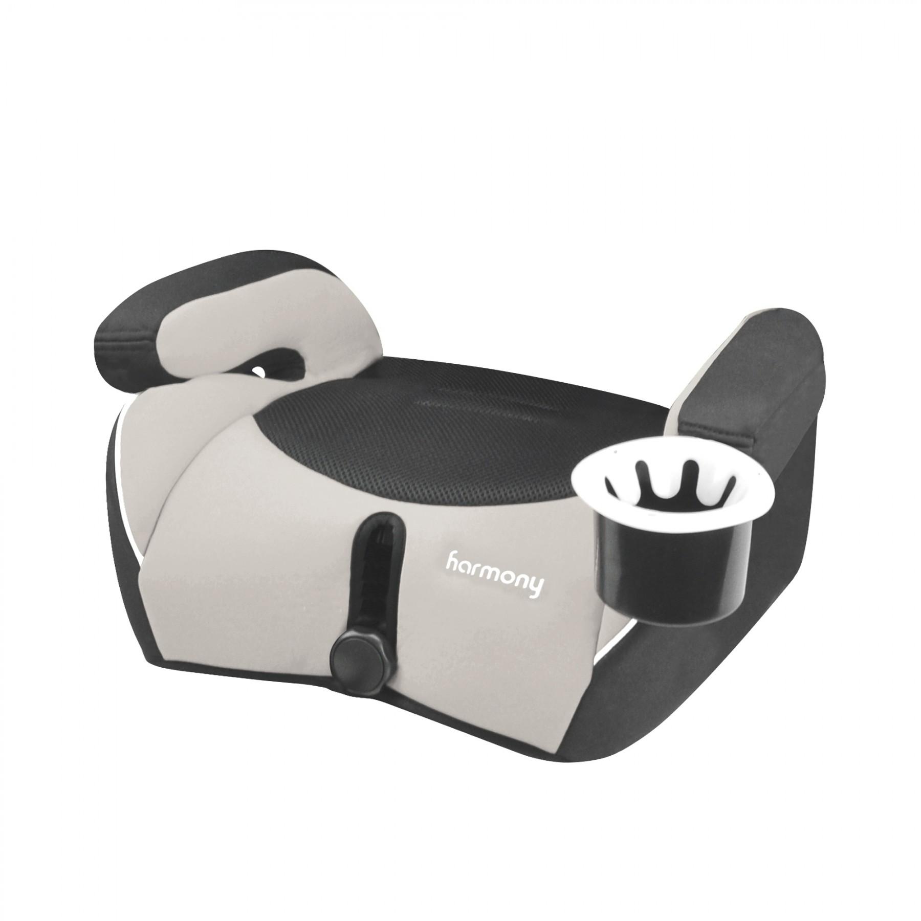 Defender 360° Siège d'auto de luxe 3-en-1 - Gris/Noir