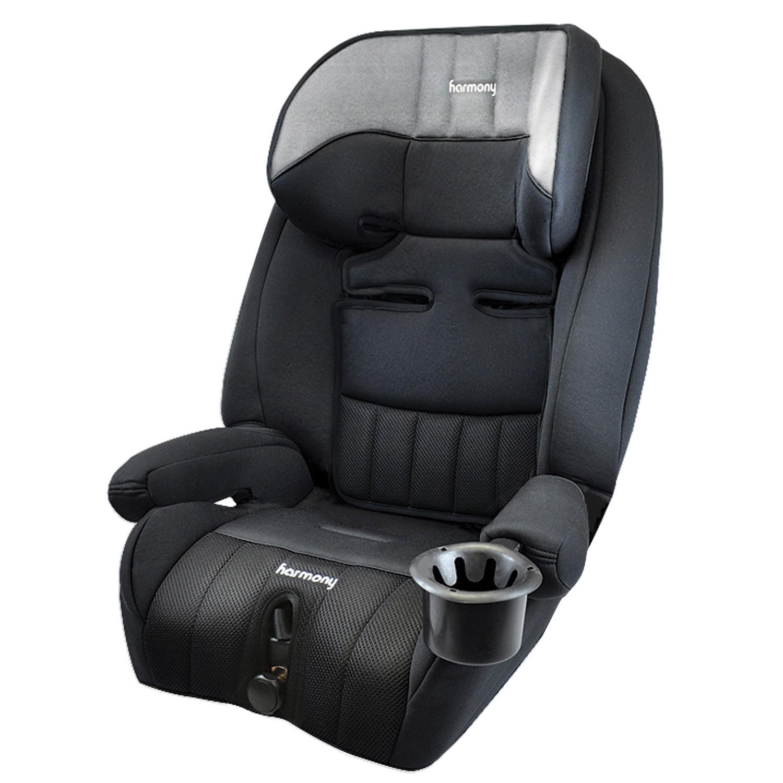 Defender 360° Elite Siège d'auto 3-en-1 - Gris chiné avec Coussin de soutien