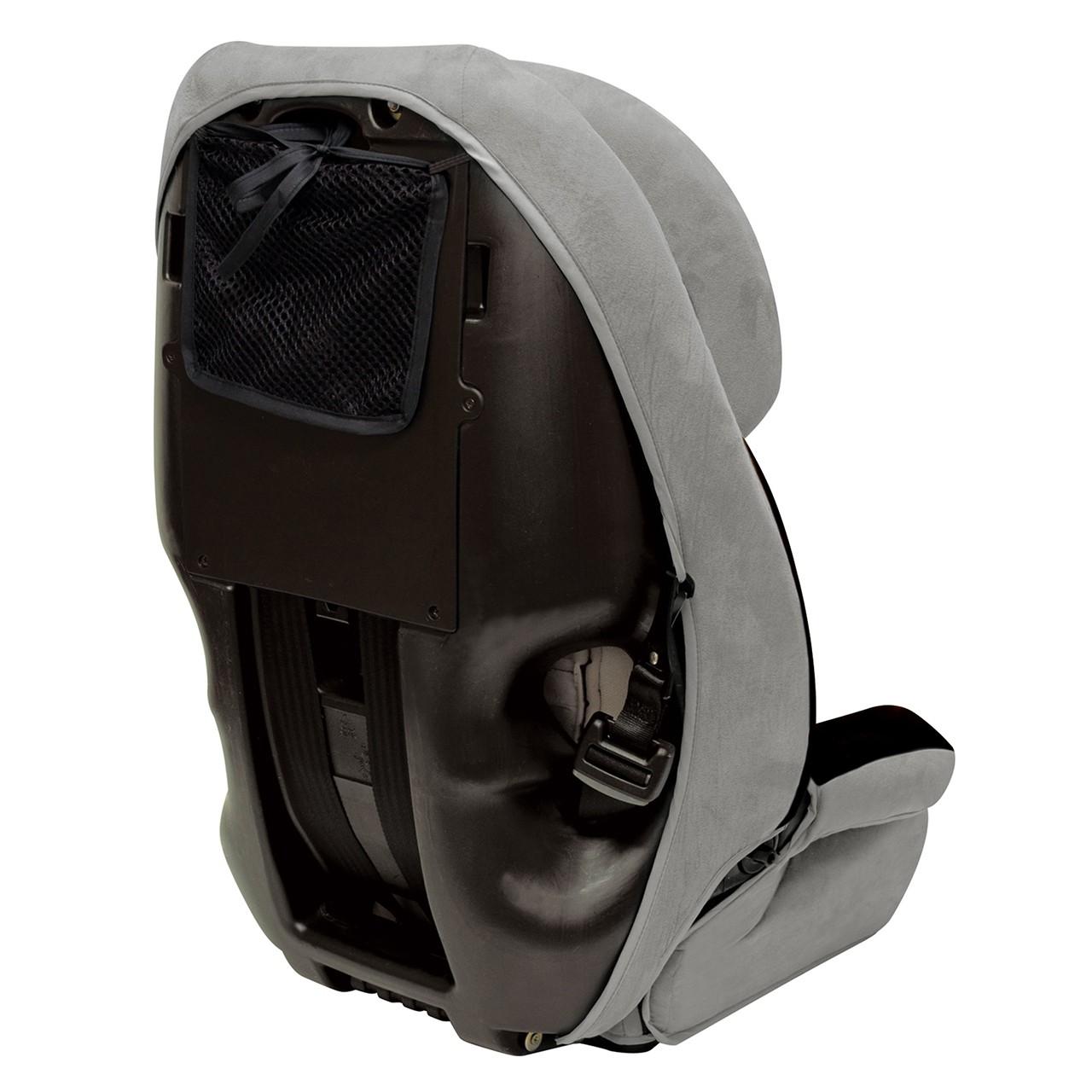 Defender 360° Siège d'auto de luxe 3-en-1 - Noir/Gris