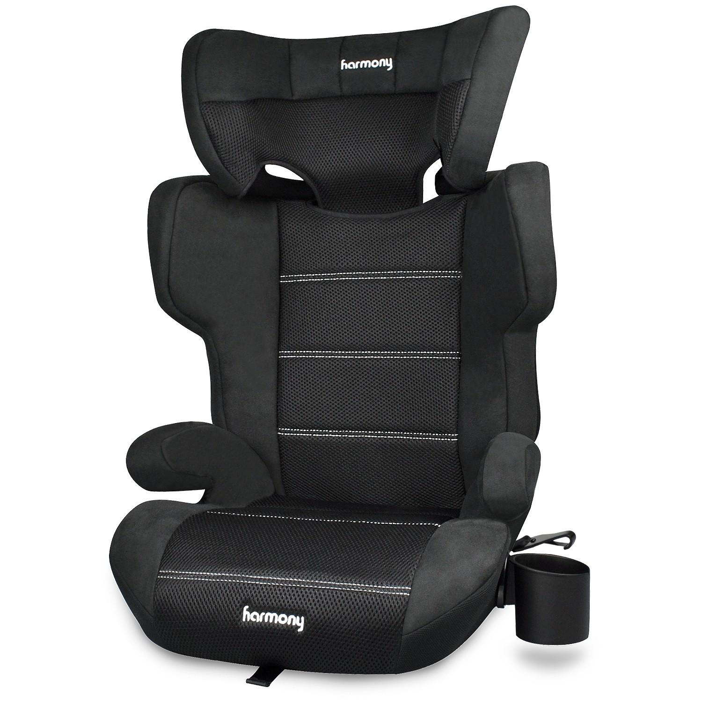 Dreamtime Elite - Siège d'auto d'appoint confort avec SAU - Noir