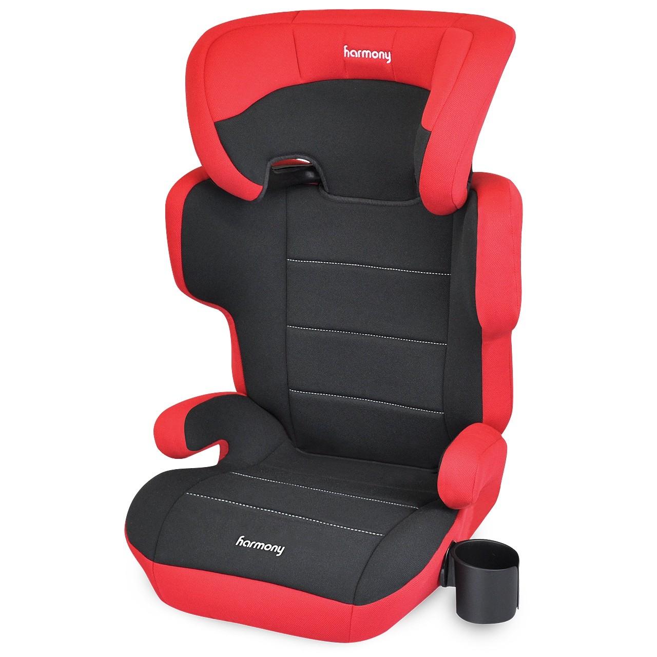 Dreamtime Elite - Siège d'auto d'appoint confort - Rouge et Noir