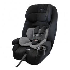 Defender 360° siège d'auto combinaison de luxe 3-en-1 - Minuit avec Coussin de soutien gris chiné