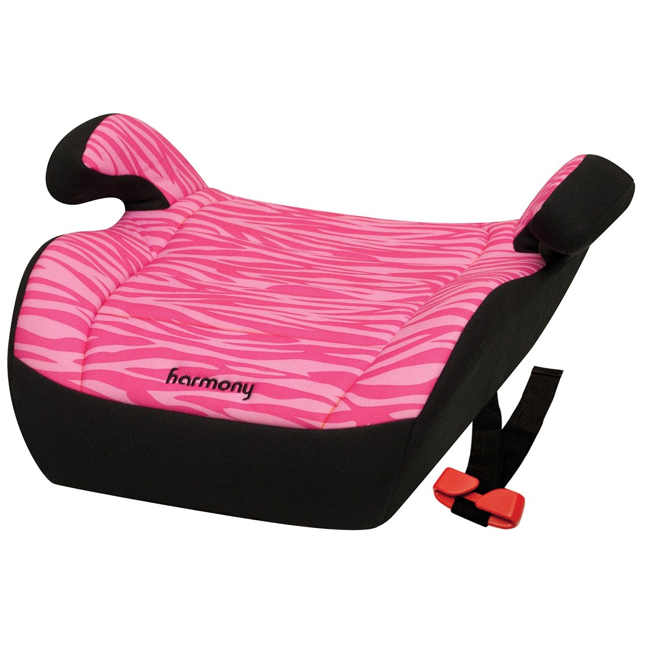 Youth Booster Car Seat - Pink Zebra - No Back Booster Seats - Products
