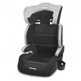 Dreamtime Deluxe Comfort Booster Car Seat - Heather Grey