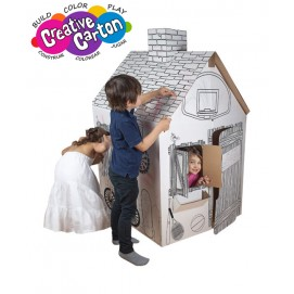 Color & Create Cardboard Clubhouse