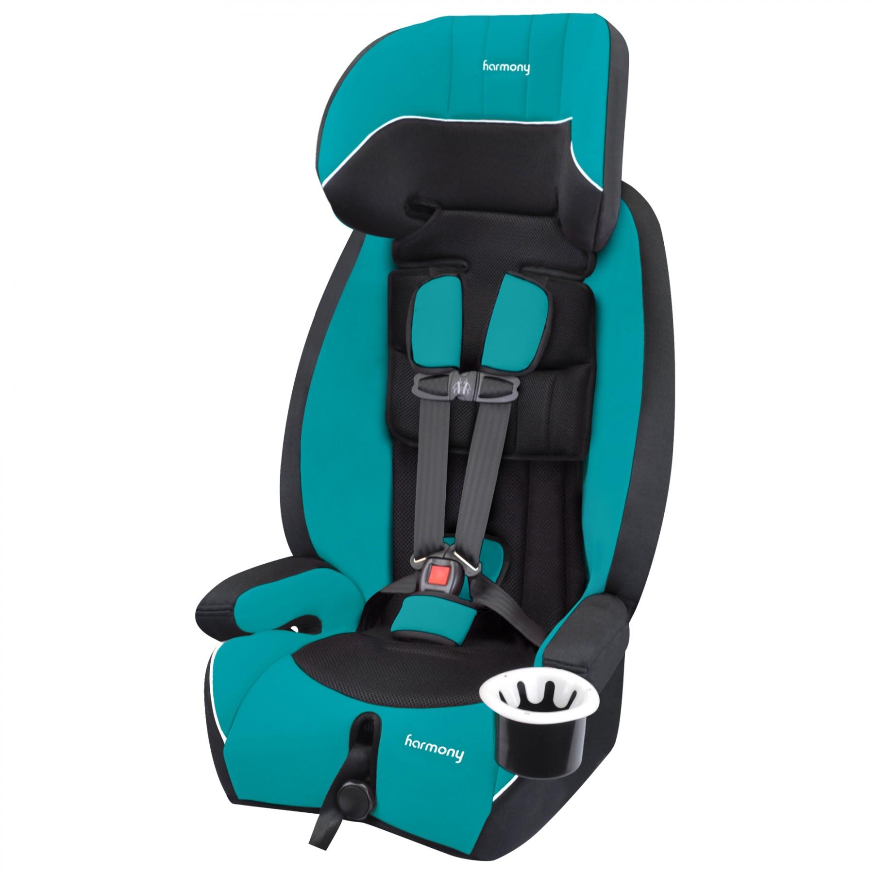 Defender 360° Sport - Asiento de seguridad infantil elite 3-en-1 - Verde Azulado
