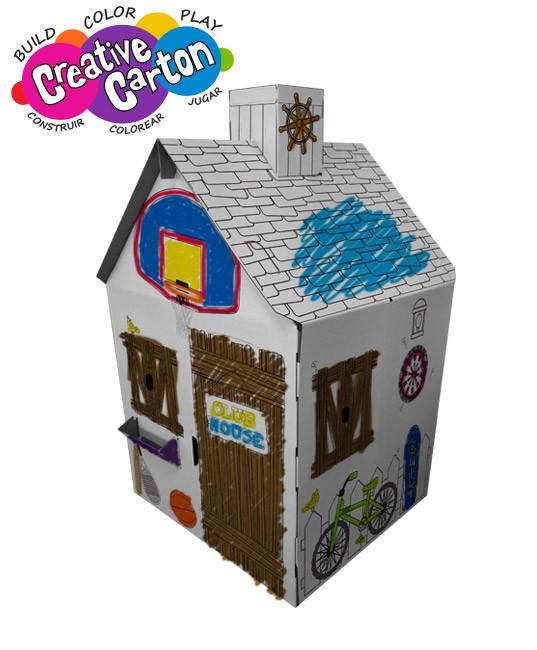Crea y Colorea una Casa de Campo