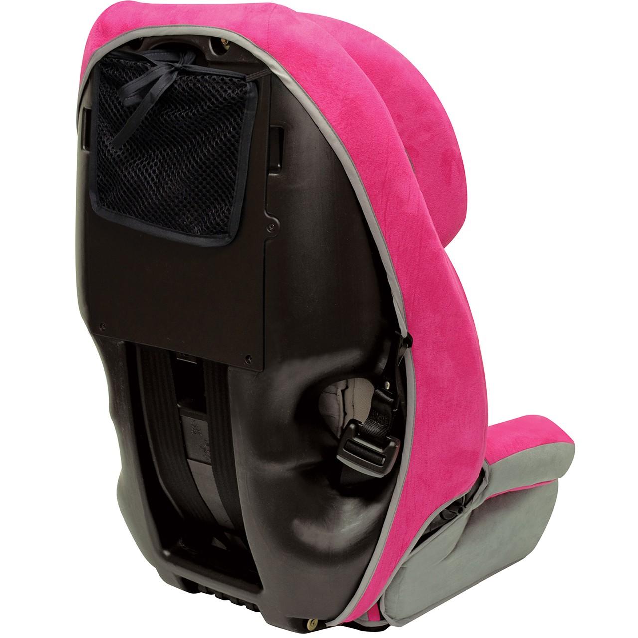 Defender 360° - Asiento de seguridad infantil elite 3-en-1 - Frambuesa