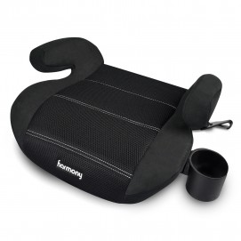 Youth Booster Elite - Asiento elevador con LATCH - Negro