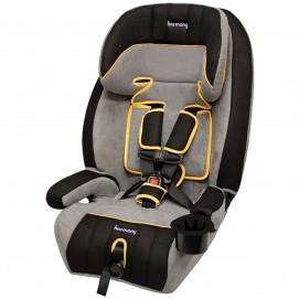 Defender 360° - Asiento de seguridad infantil elite 3-en-1 - Negro/Gris