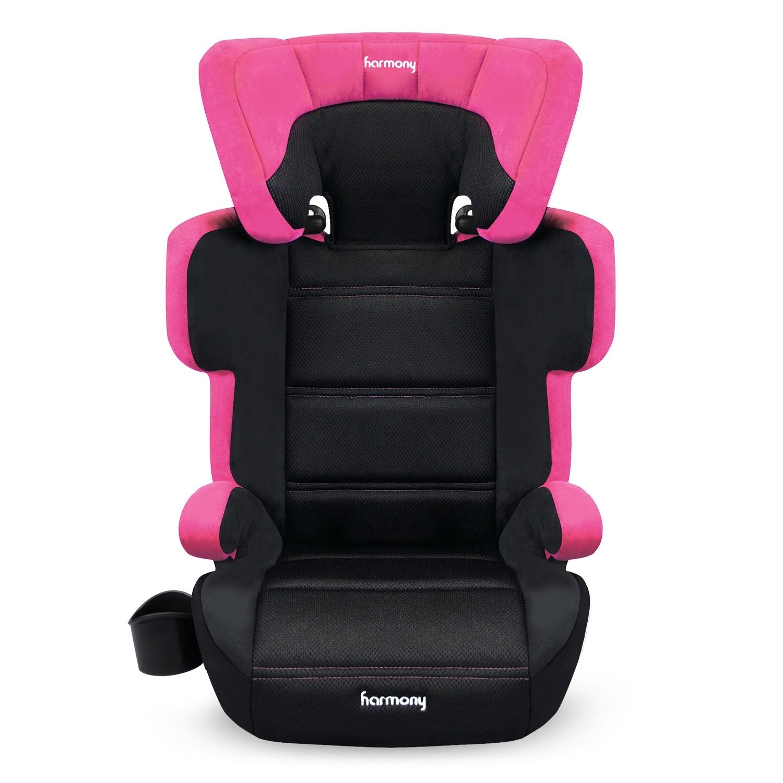 Dreamtime Elite Comfort Booster Car Seat - Rich Raspberry
