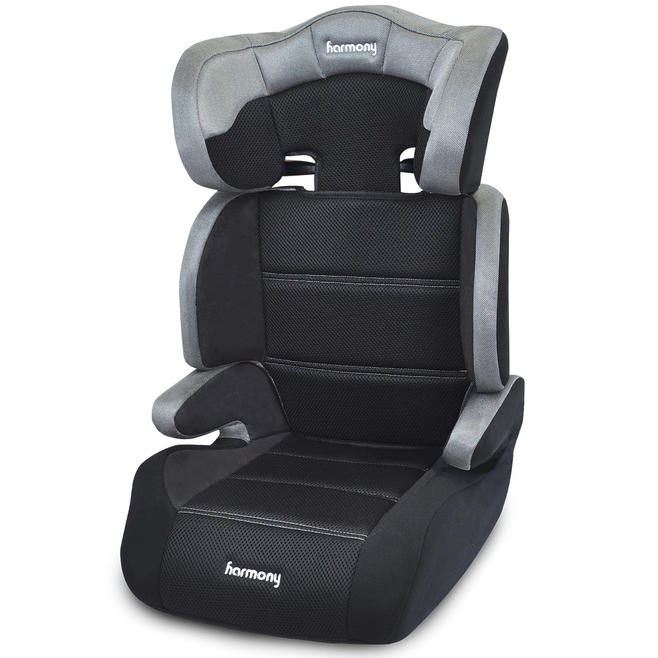 Dreamtime Deluxe Comfort Booster Car Seat - Silver Tech