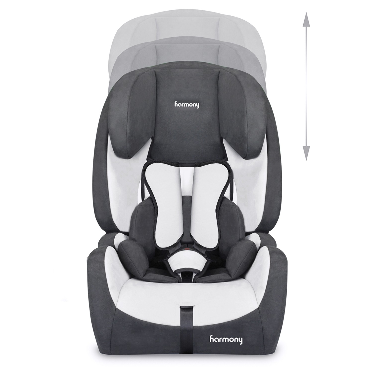 Genesys Deluxe Harnessed Booster Seat with Isofix